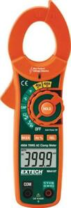 Extech Ma410t True rms Ac Clamp Meter 600vac dc 400aac Ncv Detector