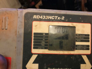 Radiodetection Rd433hctx 2 Utility Locate Transmitter Used With Leads