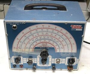 Eico Tv fm Sweep Generator Model 360 Vintage Industrial Surplus