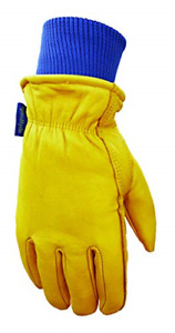 Leather Winter Work Gloves Water Resistant Very Warm 100 gram Thinsulate