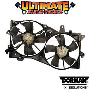 Radiator Cooling Dual Fan W Controller 3 0l For 02 04 Mazda Mpv W Tow Package