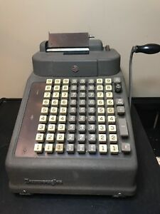 Vintage Adding Machine Burroughs Adding Machine Co Manual Operation It Works
