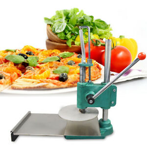 9 5in Heavy Duty Pizza Dough Pastry Manual Press Machine Stainless Steel Usa