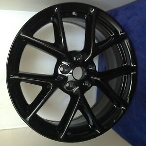 Nissan Maxima 2012 2013 2014 2015 19 Factory Oem Wheel Rim Set 4 Matching Black