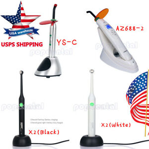 Sale Us 4 Models Dental Led Curing Light Lamp Wireless 2000mw 2700mw 2300mw