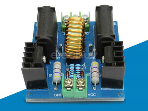 New 10a Zvs Tesla Flyback Driver Board Dc High Voltage Step Up Transformers