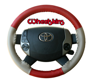 Wheelskins Genuine Leather Steering Wheel Cover For Toyota Camry All Models