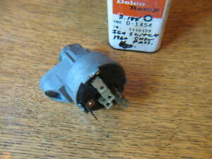 60 1960 Chevy Belair Biscayne Impala Nos Gm Delco Ignition Switch 1116578