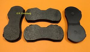 Mopar Metallic Cop Disc Brake Pads 4 Piston B Body 66 69 Gtx R T Hemi 440 383
