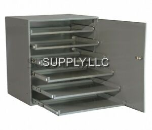 Steel Bin Shelving 6 Drawers Door Compartments Parts Fittings Nut Bolt Storage