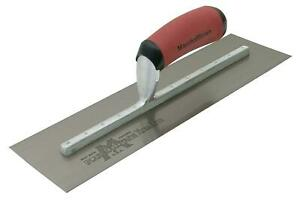 Marshalltown Mxs91d 10 1 2 By 4 1 2 Finishing Trowel curved Durasoft Handle