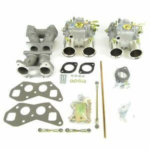 Weber 45 Dcoe Carburettor Throttle Linkage Intake Manifold Kit Triumph T