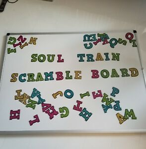 X Box Double Sided Magnetic Dry Erase Scramble Board