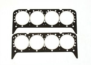 Head Gaskets Pair Set 57 91 Chevy Small Block 283 305 350 4 6 5 7l Steel Core