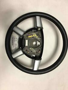 2005 Pontiac Gto Steering Wheel W Red Stitching Some Damage To Leather Free Ship
