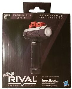 NEW Hasbro Nerf Rival Tactical Flashlight Grip Attachment Led Light FREESHIPPING $15.99