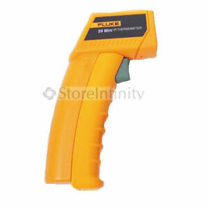 Fluke 59 Mini Infrared Thermometer W Laser Sight c f Switch 18 c 275 c Range