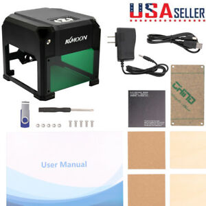 Usb Laser Engraver Printer Carver 2000mw Diy Logo Engraving Cutter Machine Tool