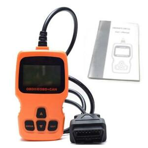 Om123 Obd2 Automotive Scanner Car Diagnostic Tool In Russian Auto Code Reader Un