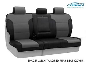 Coverking Spacer Mesh Custom Tailored Rear Seat Covers For Toyota Tacoma