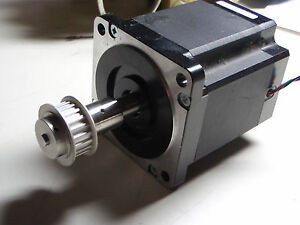 Lin Engineering 8718m 10pd 04ro Stepper Motor With Brake