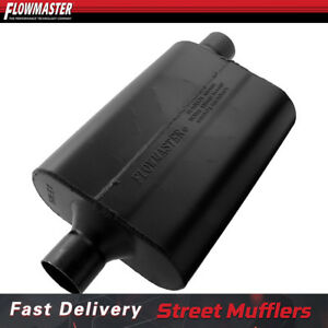 Flowmaster 942447 Exhaust Muffler resonator 2 25 C o For 2010 2012 Ford Fusion