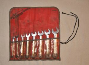 Snap On C 80c Sae 8 Piece Wrench Set 5 16 3 4