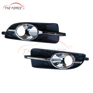 1pair Front Bumper Fog Driving Lights Housing Cover For Buick Lacrosse 2010 2013