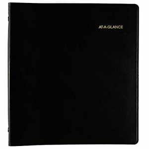At a glance 2019 2023 Monthly Planner 5 Year 9 X 11 Large Black 7029605