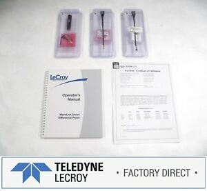 Teledyne Lecroy D350st 3ghz Differential Amplifier Small Tip Factory Warranty