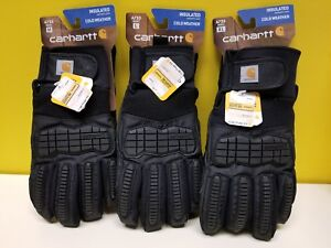 Carhartt A733 Winter Ballistic Insulated Cold Weather Gloves Black you Pick Size