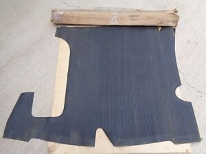 Nos 1941 1948 Chevy Fleetline Trunk Rubber Floor Mat Original Gm Sedan Areosedan