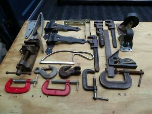 Large Lot Of Sockets Wrenches Screwdrivers Pliers Pipe Wrench Hardware Some Sets