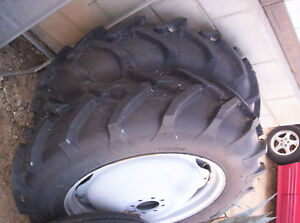 12 4 28 11 28 Alliance Tractor Tires Rims Weights Massey Ferguson Z129 To30 1953