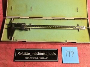 excellent mitutoyo Japan Made 12 In Absolute Digital Caliper machinist Tool 17p
