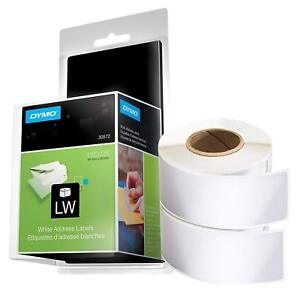 Dymo Authentic Lw Mailing Address Labels For Labelwriter Label Printers White