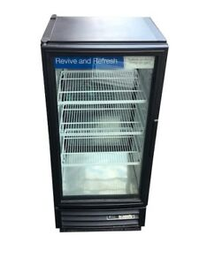 True Gdm 10 10 Cu Ft Commercial Refrigerator With Led Double Sided Glass Doors