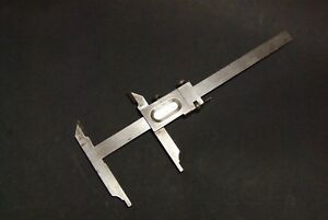 Vintage Hommel Stainless Steel Master Vernier Caliper 8 00in 220mm Measuring