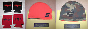 New Snap On Tools Knitted Beanie Stocking Cap And 4 Can Koozies Free Shipping