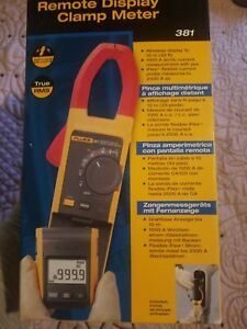 Fluke 381 Remote Display True Rms Ac dc Clamp Meter With Iflex Brand New In Box