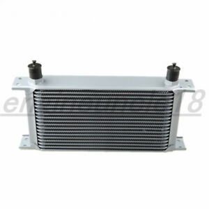 Us 19 Row An10 Aluminum Mocal Style Engine Transmission Oil Cooler Universal