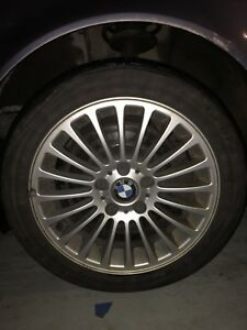 Bmw E46 17 Oem Rims With All Season Tires Ready To Use