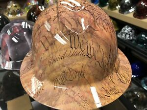 New Full Brim Hard Hat Custom Hydro Dipped We The People Free Shipping