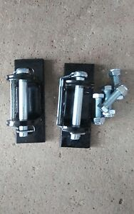 Tow Bar Brackets Hitch Mounting Brackets 5000 Lbs New With Safety Pins