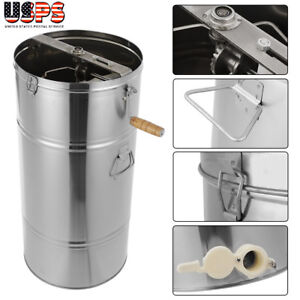 High Quality Stainless Steel Honey Extractor Beekeeping Equipment Manual