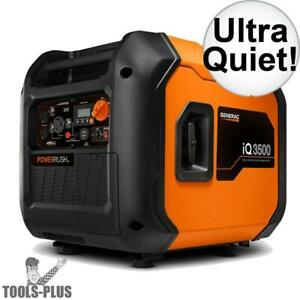 Generac 7127 3500w Ultra quiet Electric Start Portable Inverter Generator New