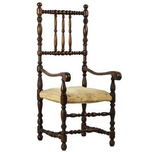 Louis Xiii Style Doll S Walnut Open Armchair Furniture France
