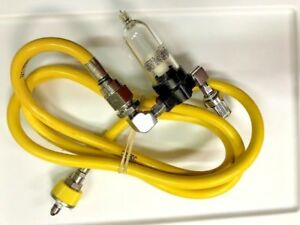 Norgren Condensation Trap For Air oxygen Blender With Air Hose