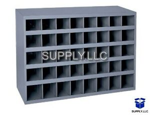 Metal 40 Hole Storage Bolt Bin Cabinet Compartment Nuts Bolts Fasteners Screws 1