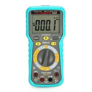 2900a Digital Automotive Car Engine Multimeter 6000 Counts True Rms Ac dc Volt A